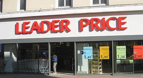 Le magasin Leader Price de Livry-Gargan. La marque a adopté un logo plus lisible et moderne. Crédits photo : DR
