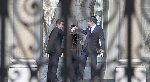 Lundi, à neuf heures du matin, le président de la République a reçu le premier ministre François Fillon. Le casting des entrants et des sortants du nouveau gouvernement sera mis au point dans l'après-midi.