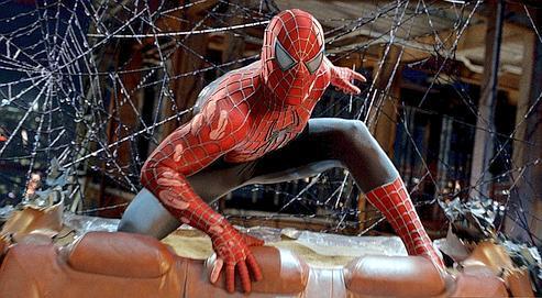 Frédéric Martel explique que le cinéma et la musique américaines dominent. Spider-Man (ci-dessus) en est un exemple.