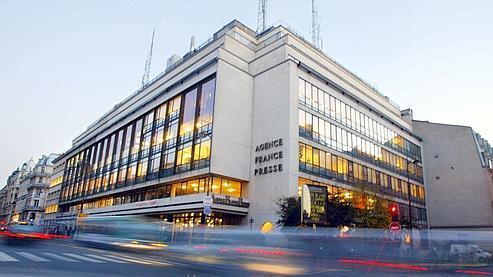Le siège de l'AFP à Paris.