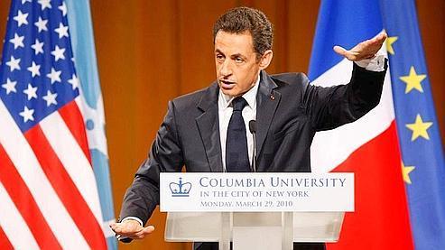 Le président de la République compte sur sa «parenthèse américaine» pour redonner un nouveau souffle à sa popularité. (AP)
