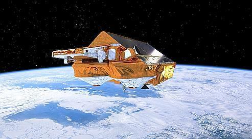 Un satellite européen va mesurer l'épaisseur des glaces