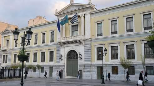 Le siège de la National Bank of Greece. Natixis a fortement dégradé cette société cotée en Bourse.