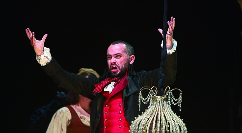 Arnaud Marzorati interprète Honoré Béjart dans L'Amour coupable.