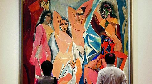 Les Demoiselles d'Avignon de Pablo Picasso.