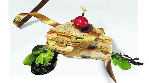 Notre gagnant : le club sandwich du Meurice (Photo: DR)