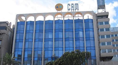 Le siège de la Caisse d'épargne de la Méditerranée à Alicante.