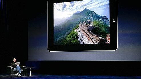 En janvier dernier, Steve Jobs annonce le lancement de l'iPad.