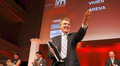 Philippe Vivien, du groupe Areva, DRH de l'année 2010