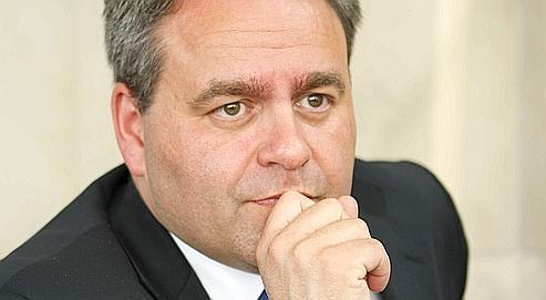 Le secrétaire général de l'UMP, Xavier Bertrand, le 5 mai dernier.