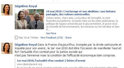 Ségolène Royal tombe dans le piège de Wikipédia