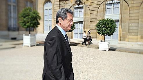 Christian Blanc, la semaine dernière, à la sortie du conseil des ministres.