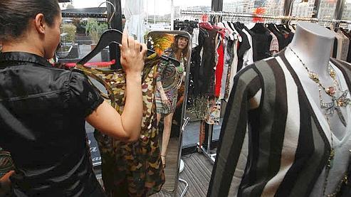 Le marché de la mode encore en repli cette année