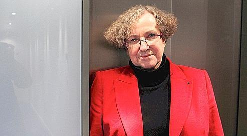 Marie-Françoise Marais, présidente de l'Hadopi.