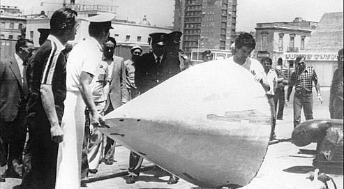 Après le crash, le 29 juin 1980, seule une partie de la queue du DC9 avait été retrouvée en mer.