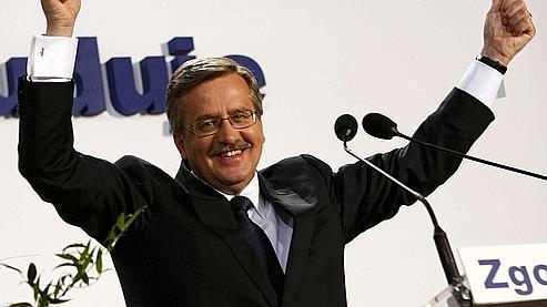 Bronislaw Komorowski, le 4 juillet 2010.