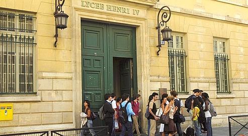 Le préstigieux lycée henry IV à Paris.