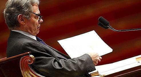 Bernard Accoyer, le président de l'Assemblée nationale.