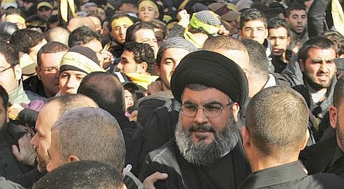 Le leader du Hezbollah, Hassan Nasrallah, en 2008.
