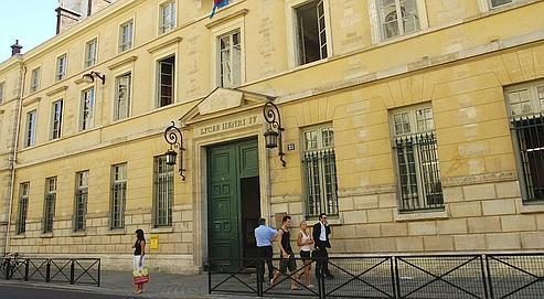 Le lycée Henri-IV, à Paris. Le 14 juillet, le jury du Capes de lettres classiques a présenté sa demission, dénonçant un concours au rabais.