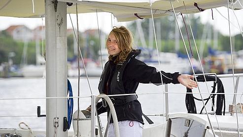 Laura, 14 ans, part pour son tour du monde en solitaire