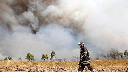 Russie : les incendies ont touché des zones radioactives