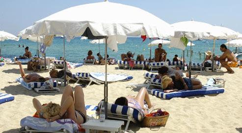 Menace sur les plages priv es de saint tropez - Plage de saint tropez ...