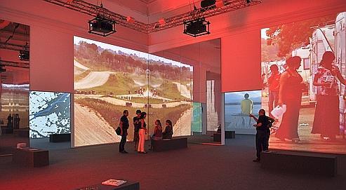 Le pavillon français «Metropolis?», imaginé par Dominique Perrault, s'intéresse au devenir de la ville.