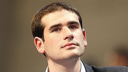 Benjamin Lancar, président des Jeunes Populaires.
