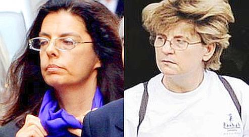La lettre a été adressée par Françoise Bettencourt-Meyers (à gauche) , quatre mois avant la mort de son père, à Claire Thibout (à droite) . Crédits photo : LE FIGARO/DR