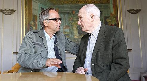 Michel Bouquet:«Au théâtre, je suis à nu»