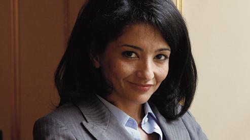 Juriste au conseil d'État et fille de harki, Jeannette Bougrab, 37 ans, a succédé à Louis Schweitzer à la tête de Halde en avril 2010. Crédits photo: Mélanie Frey/Fedephoto.