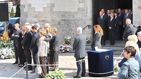 Les obsèques de la jeune femme de 29 ans se sont déroulées dans l'intimité lundi matin, en l'église Saint-Vincent de Marcq-en-Baroeul.