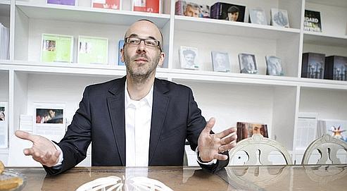 Stefan Vanoverbeke, directeur général d'Ikea France, mardi à Paris.
