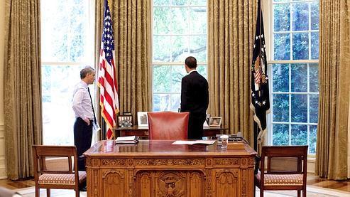 Le bras droit d 39 obama quitte la maison blanche for Bureau ovale