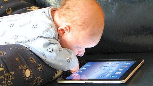 7% des Français de moins de 2 ans ont une adresse email (photo Steve Paine, Creative Commons).