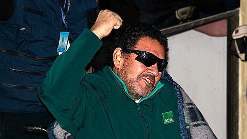 Luiz Urzua, le «capitaine» est sorti le dernier de la mine jeudi matin.