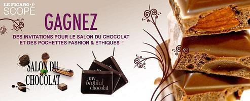 Gagnez des invitations pour le salon du chocolat 2010 - Invitation gratuite salon du chocolat ...