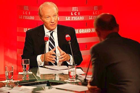 Brice Hortefeux, dimanche, au «Grand Jury RTL-Le Figaro-LCI».