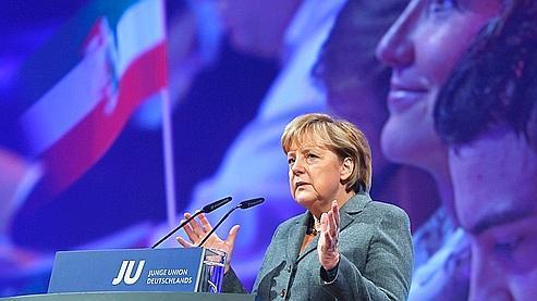 «Nous nous sentons liés aux valeurs chrétiennes», a dit Angela Merkel.