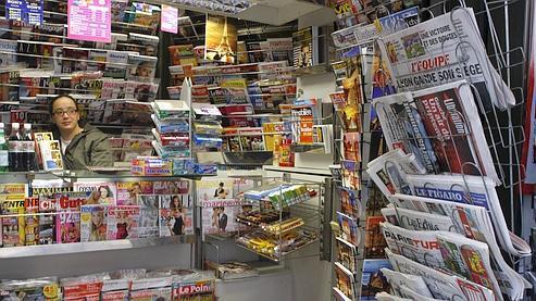 Le chiffre d'affaires de la presse écrite a plongé en 2009