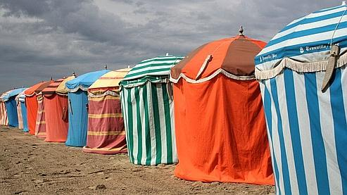 La plage de Trouville-sur-Mer en Basse-Normandie. Crédits photo : Flickr