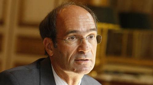 Éric Woerth demande aux jeunes de «regarder vraiment» le texte de la réforme. (Crédits photo : Le Figaro)