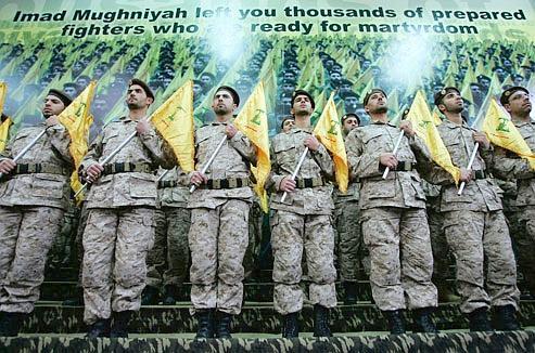 Des soldats du Hezbollah en 2008.
