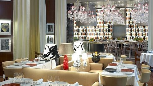 La cuisine for Restaurant le jardin royal monceau