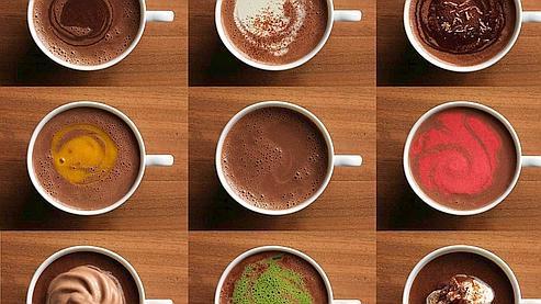 Les chocolats chauds de Jean-Paul Hévin sont à savourer aux différents moments de la journée. (Photo : Quentin Bertoux)