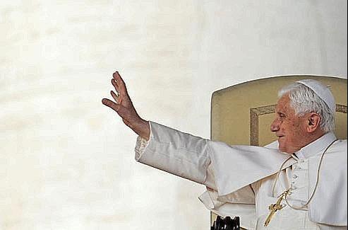 Benoît XVI le 13 octobre dernier. Crédits photo: AFP/ANDREAS SOLARO
