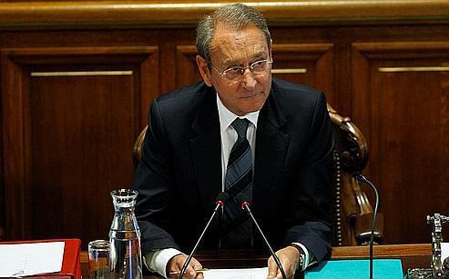 Le maire de Paris, Bertrand Delanoë.