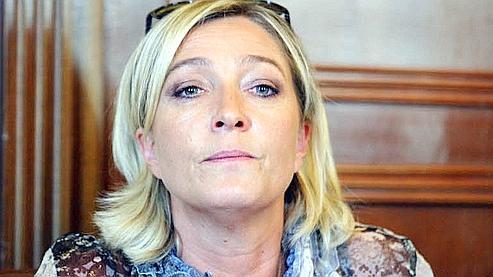 «Entre Marine Le Pen et Martine Aubry, je ne pense pas que les électeurs voteront Aubry» estime Marine Le Pen. (Le Figaro/Vialeron)