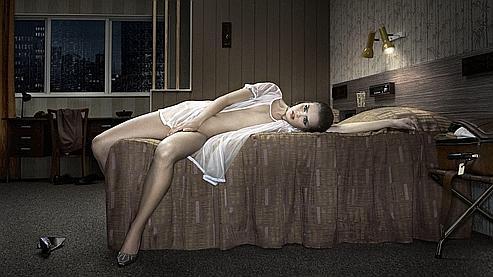 «Hotel Kyoto Room 211» par Erwin Olaf, 2010. (Crédits : Gallerie Magda Danysz, courtesy Flatland Paris).